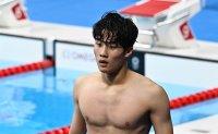 Teen swimming sensation Hwang Sun-woo eyes Olympic medals in 2024