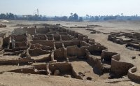 Egyptologists uncover 'lost golden city' buried under sands