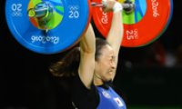 Weightlifter Yoon clinches bronze medal