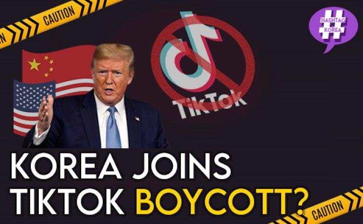 [#HashtagKorea] No more TikTok in Korea? [VIDEO]
