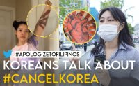 What do Koreans think about Filipinos joining #cancelkorea movement?