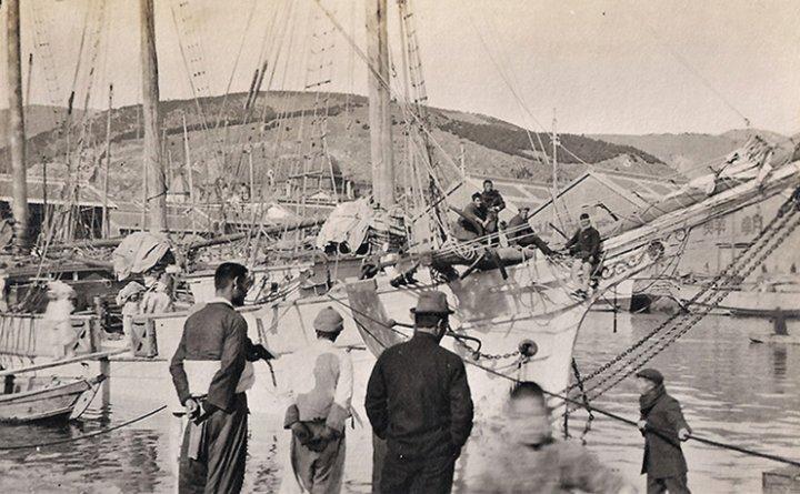 Unflattering views of Fusan in 1917