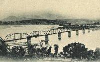 Bridging the Han River in 1900