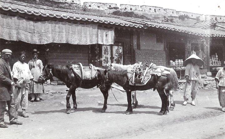 Horace Allen's arrival in Joseon