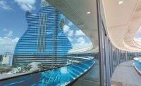 Casino's guitar-shaped hotel to make rock star debut