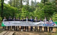 Central American countries celebrate independence in tree-planting ceremony