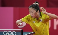 Teen ping pong player leaves 1st Olympics emptyhanded after team's elimination