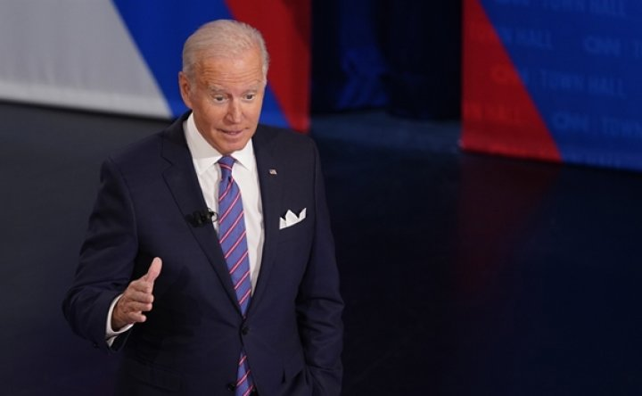 Biden says United States would come to Taiwan's defense