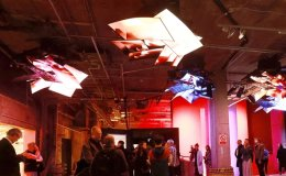 LG's flexible displays to be featured at London art exhibition