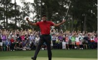 Woods' comeback at Masters named AP Sports Story of the Year