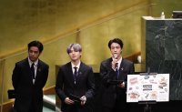 Permission to Dance? BTS sing their way through United Nations