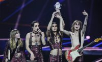 Rock band Maneskin wins Eurovision Song Contest for Italy