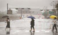 Sporadic rain to continue this week