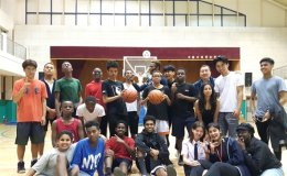 Students launch fundraising for multicultural youth basketball team