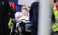 Christian Eriksen taken to hospital after collapsing at Euro 2020