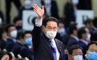 Former top diplomat Kishida to become Japan's next PM after party vote