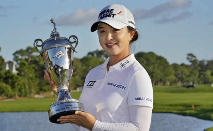 Kim Sei-young earns 2nd LPGA win of season in Florida