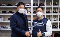 Giants re-sign veteran slugger Lee Dae-ho