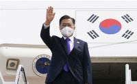 Moon leaves US after visit for summit with Biden