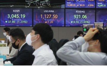Rising US treasury yields pushing exchange rate higher