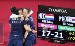 S. Korea puts 2 pairs in badminton women's doubles semis, secures at least bronze