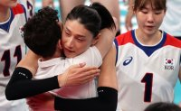 Korean women's volleyball misses out on bronze against Serbia