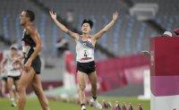 Korea's 1st Olympic modern pentathlete 'proud' of the country's breakthrough medal
