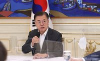 Moon publicizes upcoming climate summit in person via special footage