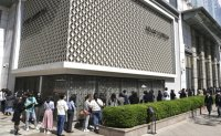 Over 100 people line up in front of Chanel shop amid rumors of price hikes