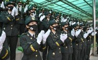 402 female NCOs join ROK Army
