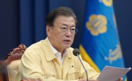 Moon urges labor union to refrain from waging large-scale strike