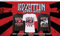 Academic activist protests Led Zeppelin's use of Rising Sun flag on anniversary T-shirts