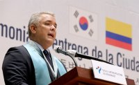 Duque emphasizes Colombia's role as gateway to Latin America