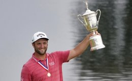 Rahm wins US Open to take first major crown, top ranking