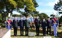 Monument for West Point graduates killed during Korean War