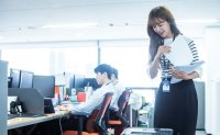 Average starting salary for white-collar workers at big firms over 33 million won