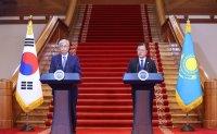Korea, Kazakhstan agree to expand strategic partnership