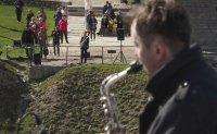 Musicians blend jazz rhythms across Estonia-Russia border