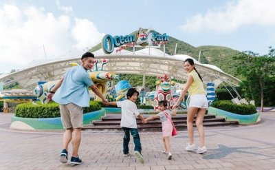 Long-awaited Water World at Hong Kong's Ocean Park won't require visitors to be vaccinated when it opens in August