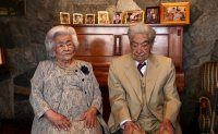 World's oldest married couple
