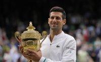 Djokovic wins record-equaling 20th Grand Slam and sixth Wimbledon title