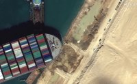 Container ship in Suez Canal set free: canal service provider