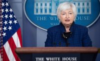 Yellen says economic recovery likely to be 'bumpy'