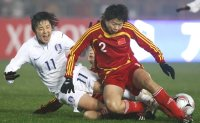 South Korea to duel China for final Asian spot in Olympic women's football tournament