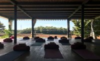 Yoga - a make-up of exercise, nature and camaraderie