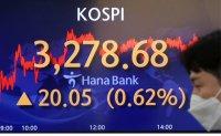 KOSPI hitting all-time high