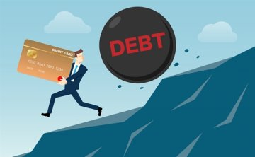 People in their 20s overburdened with bank overdrafts, card loans