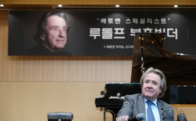'Beethoven liberates musicians': specialist Rudolf Buchbinder