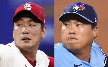 2 Korean pitchers to make final season starts on same day