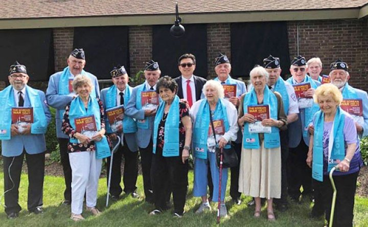 Korean War veterans call for peace treaty